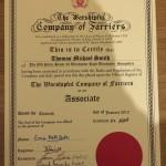 AWCF Certificate